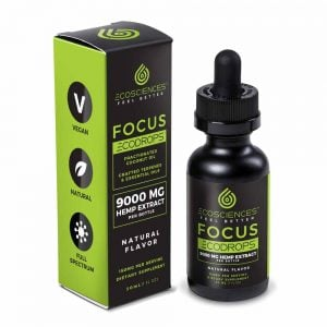 ECODROPS Focus Full Spectrum Tincture 30ml