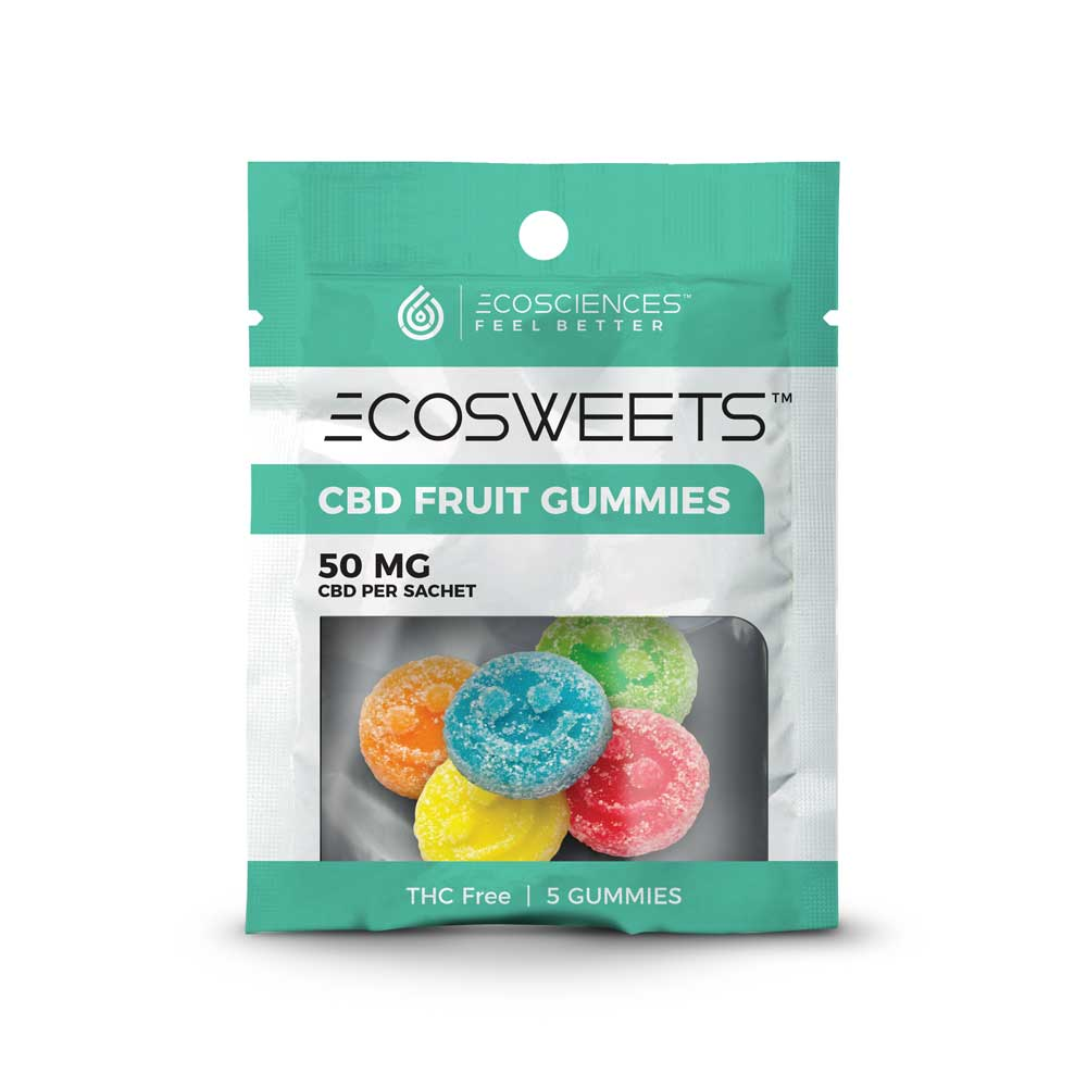ECOSWEETS Isolate CBD Gummy