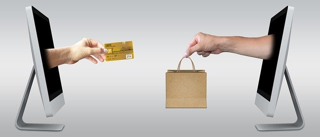 Online purchase transaction visual
